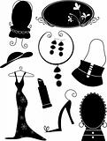 Fashion Accessories/ Objects Silhouettes