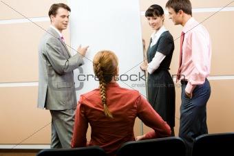 Group speech