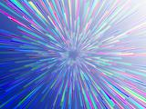 Burst streaks of light