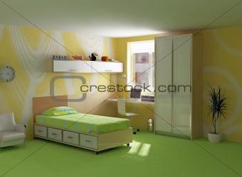 childroom modern interior