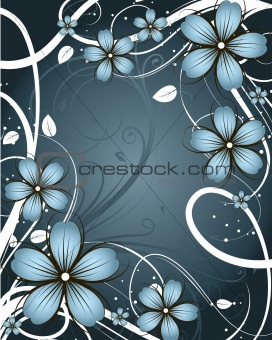 Floral  abstraction.