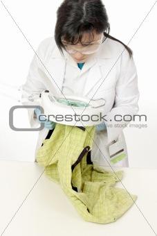 Forensic scientist