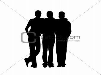 Three frends