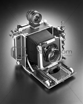 4 x 5 press camera