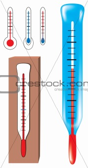 Vector thermometers