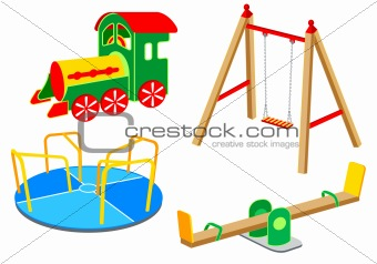 Playground equipment | Set 1