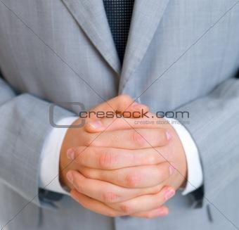 Business man Closeup