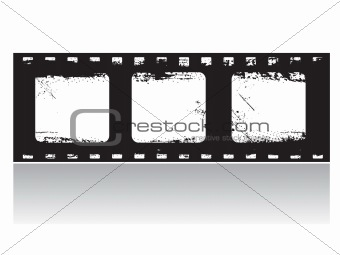 Grunge Film Frame (vector)