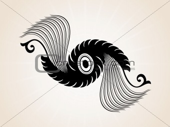 abstract creative tatto, design3