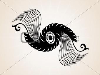abstract creative tatto, design3