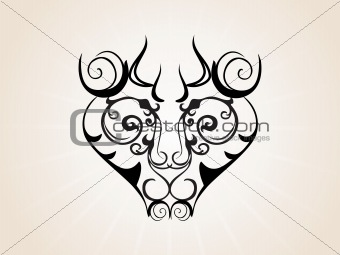 abstract creative tatto, design55