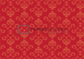 Victorian  wallpaper Pattern