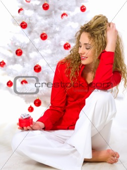 Christmas Blond Chick