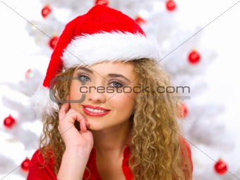 Christmas Blond Chick