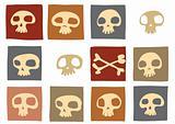 funny skulls