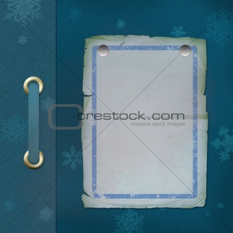Abstract background with flakes