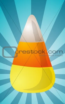 Candy corn illustration
