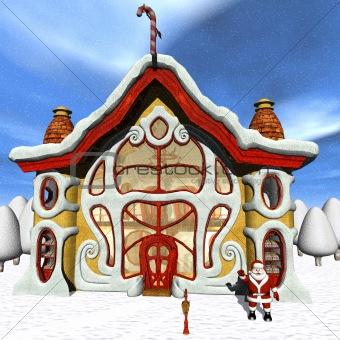 Toon Santas Candy Shop