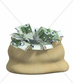 3d bag, filled euro