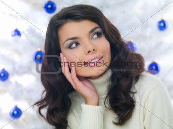 Blue Christmas Chick