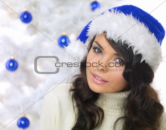 Blue Christmas Chick