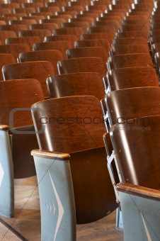 chairs in a row