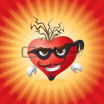 Burglar heart