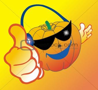 Smile pumpkin