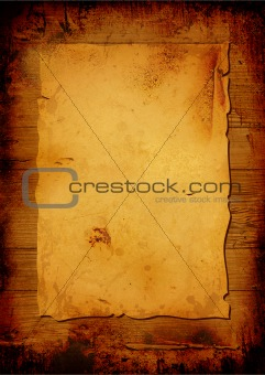 Aged parchment