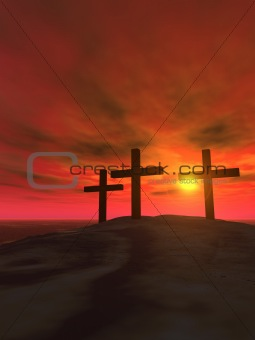 Three crosses_vertical