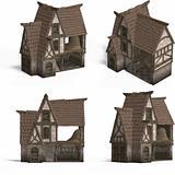 Medieval Houses - Barn