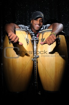 Cuban percussionist