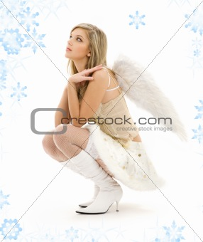 furry skirt angel