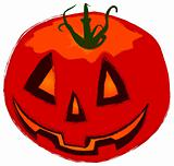 Funny Helloween pumpkin
