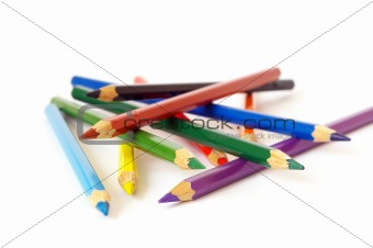 Bright color pencils