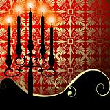 Celebration with a candelabra