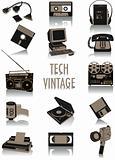 Tech-vintage silhouettes