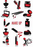 Make-up silhouettes