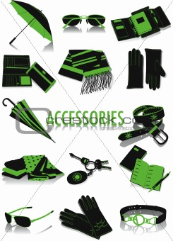 Accessories silhouettes