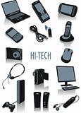Hi-tech silhouettes