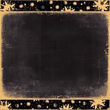 grungy dark/playful border/frame