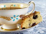 Blueberry Scone &amp; Tea