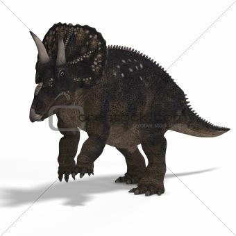Dinosaur Diceratops