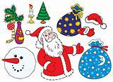 December clip-arts