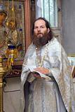 The Russian orthodox priest