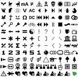121 vector pictograms.