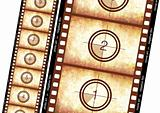 Historical film strip