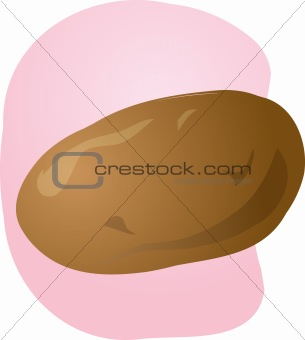 Potato illustration