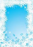snowflake fall cold
