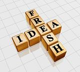 golden fresh idea like crossword